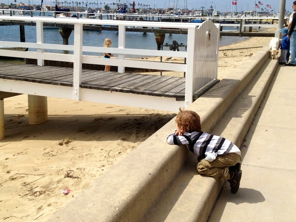 Martin enjoyed the views of Southern California. This shot was taken on Balboa Island also.